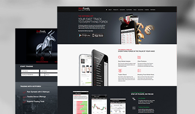HotForex Landing Pages